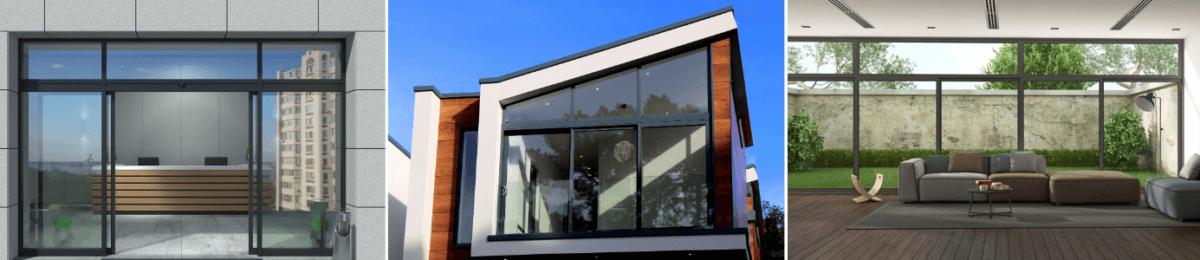 drzwi aluminiowe zewnętrzne cena