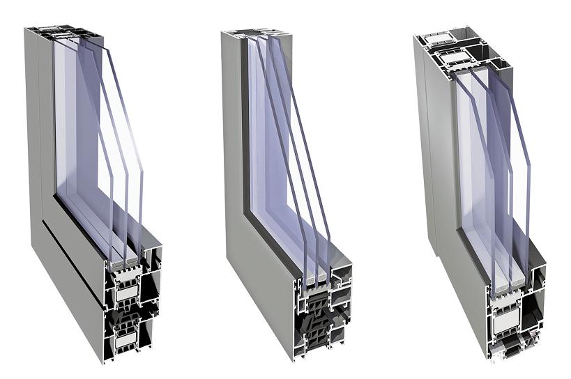 drzwi wewnętrzne aluminiowe
